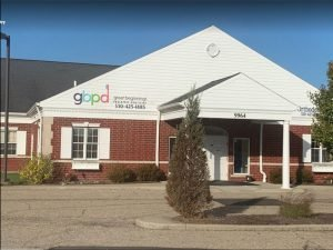 outside view shows Twinsburg pediatric dental office Great Beginnings Pediatric Dentistry