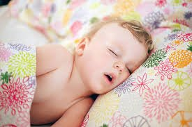 child sleeping with mouth open suggests airway health issue preventing nasal breathing